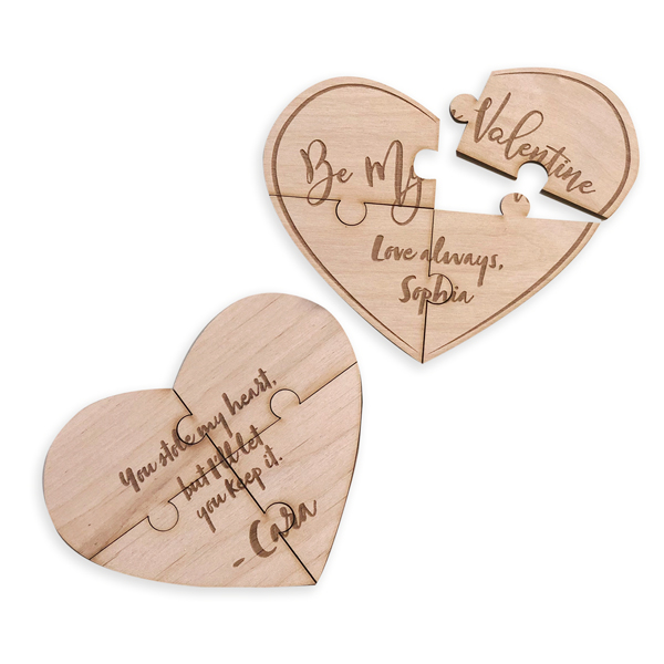 Exclusive Wood Puzzles for very important occasions