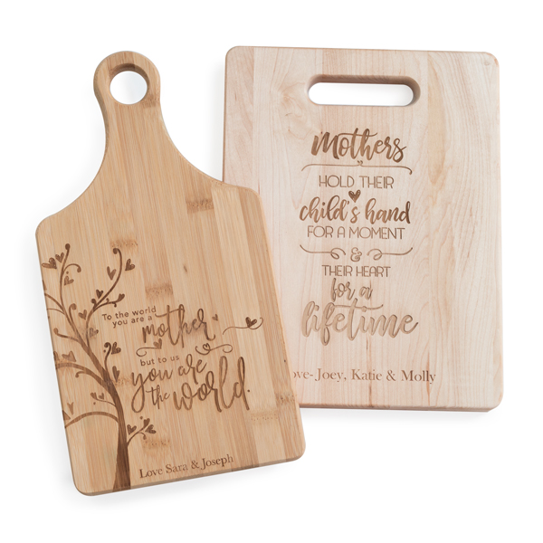 Personalize your kitchen with Cutting Boards