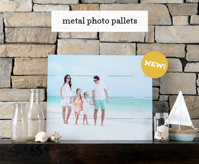 Custom Metal Photo Pallet Unique Gift Idea