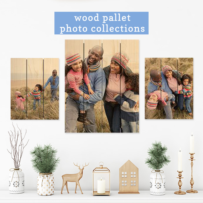 Wood Photo Pallet Collection Photo Gifts