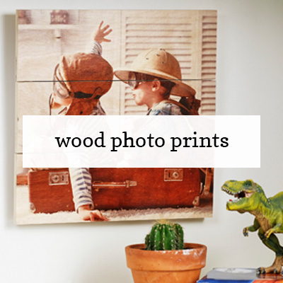 Custom Wood Photo Prints