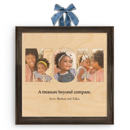 12x12 Mom Collage - Expressions Wood Print