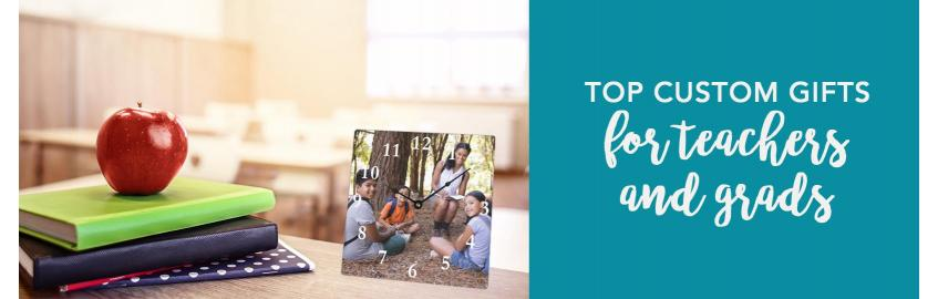 Top Custom Photo Gifts for Teachers and Grads