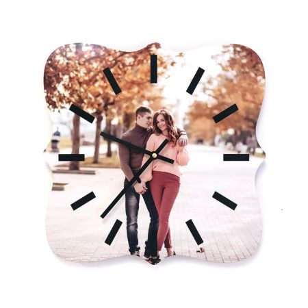 12-Inch Dayton Metal Photo Clock