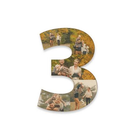 12-Inch Wood Photo Number - 3
