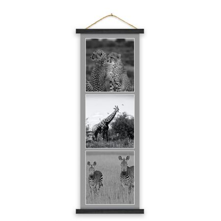12x36 Hanging Canvas Collage Print