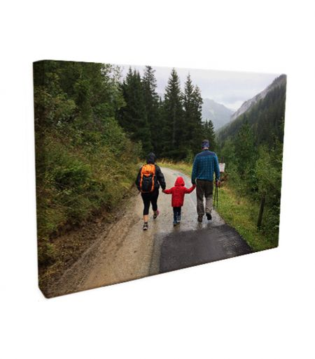 12x18 Canvas Wrapped Print - 1.5 Inch Sides