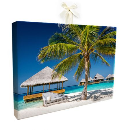 16x24 Canvas Wrapped Print - 1.5 Inch Sides