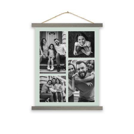 16x20 Hanging Canvas Collage Print - A