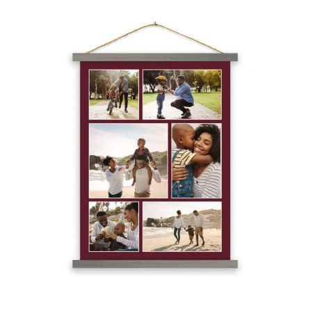 18x24 Hanging Canvas Collage Print - B