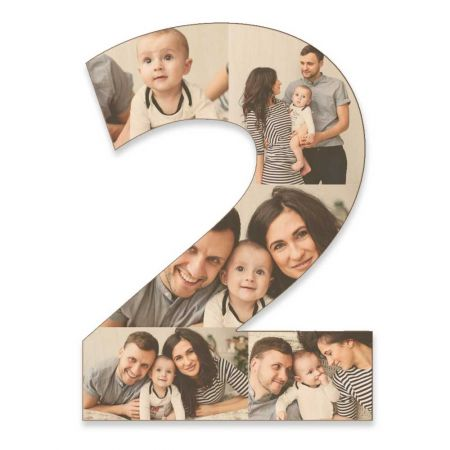 20-Inch Wood Photo Number - 2
