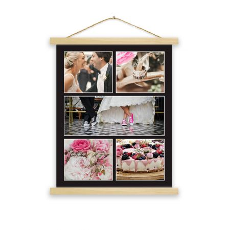 16x20 Hanging Canvas Collage Print - B