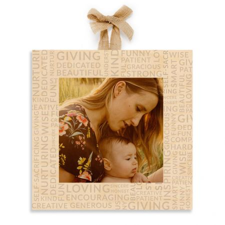 12x12 Expressions of Love - Mom - Expressions Wood Print