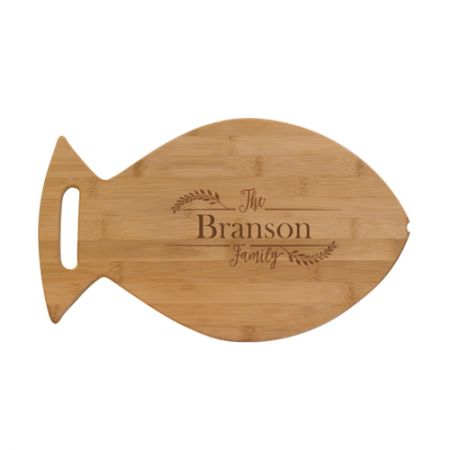 Fish Bamboo Cutting Board