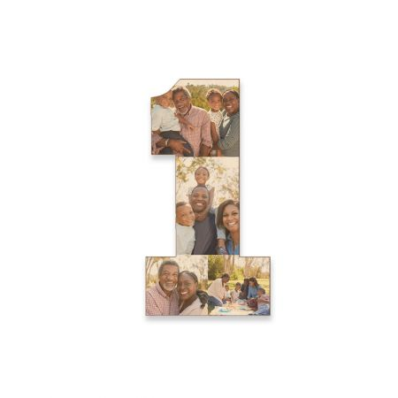 12-Inch Wood Photo Number - 1
