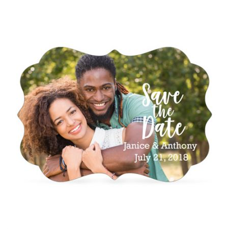 Brandywine Metal Magnet - Save the Date