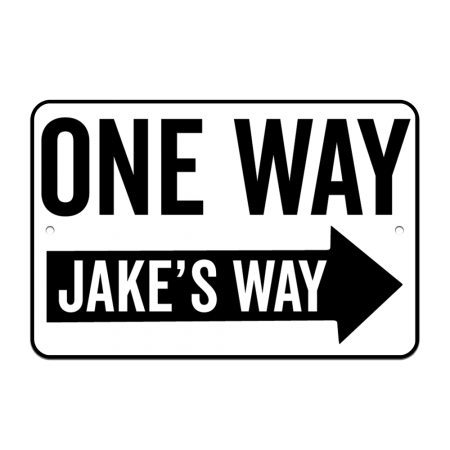 8x12 One Way Road Sign