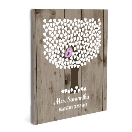 16x20 Canvas Wrapped Signature Guestbook - Special Event