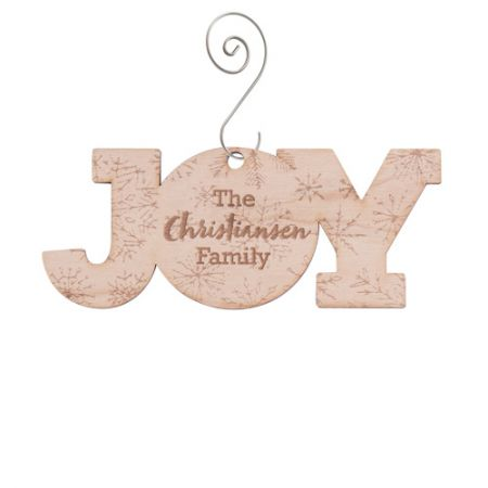 Alderwood Ornament - A Very Merry Christmas