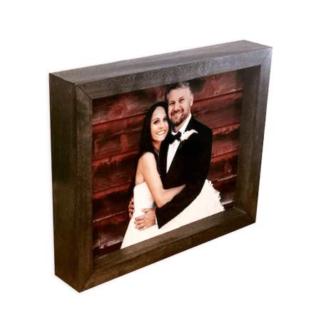 10x12 Shadow Box w/ 2-sided Wood Print