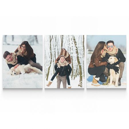 Three 16x20 Canvas Wrapped Prints