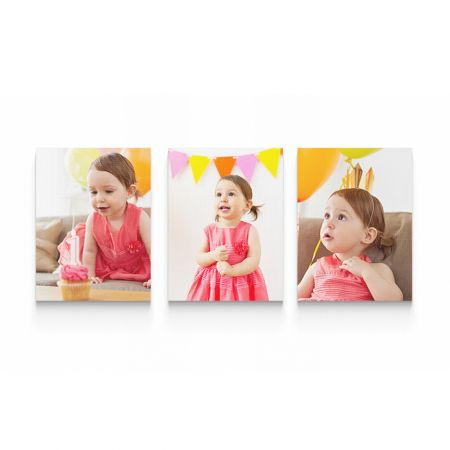 Three 8x10 Canvas Wrapped Prints